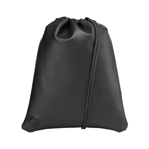 Mi-Pac Rubber Drawstring Kit Bag - Black