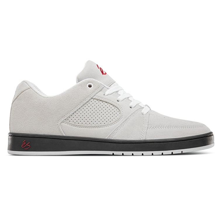 eS Accel Slim Skate Shoes - White/Black