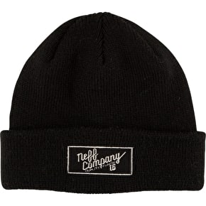 Neff Co Beanie - Black