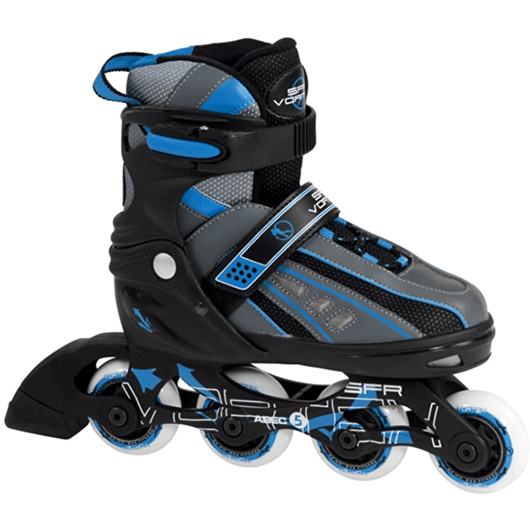SFR Vortex Boys Adjustable Inline Skates - Black/Blue
