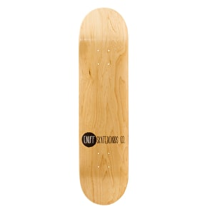 Enuff Logo Stain Skateboard Deck - Natural
