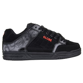 Globe Tilt Shoes - Black/Red