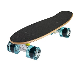 Ridge Mini Cruiser Skateboard - Number One Dark Dye/Clear Blue 22