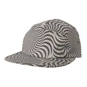 Spitfire Swirl Camp Cap - Grey