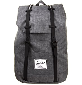 Herschel Little America Backpack - Charcoal/Black Rubber