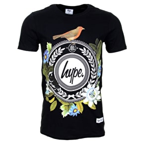 Hype Garden Reef T-Shirt - Black