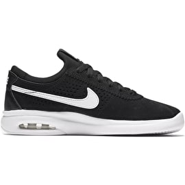 Nike SB Bruin Max Vapor Kids Skate Shoes - Black/White