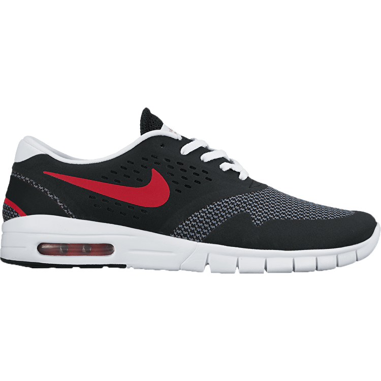 Nike SB Eric Koston Max Shoes - Black/University Red/Grey