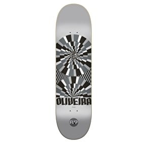 Flip Optical P2 Skateboard Deck - Oliveira 8.13