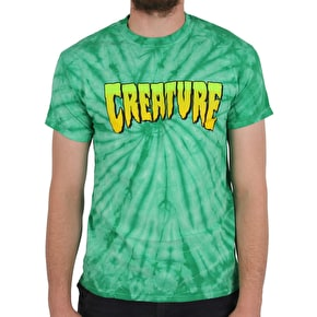 Creature Spider Logo T-Shirt - Kelly