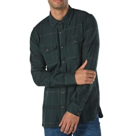 Vans Wayland III Shirt - Darkest Spruce/Black