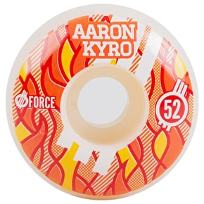 Force Fire Skateboard Wheels - Kyro Pro (Pack of 4)