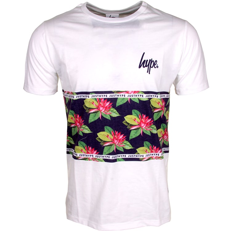 Hype Water Lily Panel T-Shirt