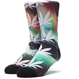 Huf Plantlife All The Light Socks - Green