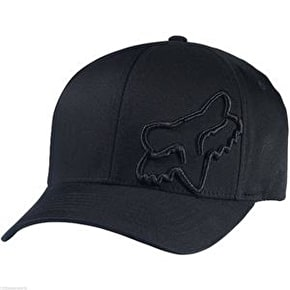 Fox Signature Flexfit Cap - Black