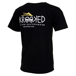 Lakai Krooked T-Shirt - Black