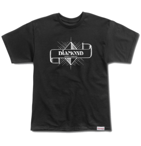 Diamond Desert Nights T-Shirt - Black