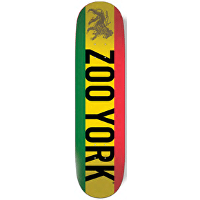 Zoo York Photo Incentive Skateboard Deck - Rasta 8.25