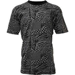 Flip Spirals T-Shirt - Black/Grey