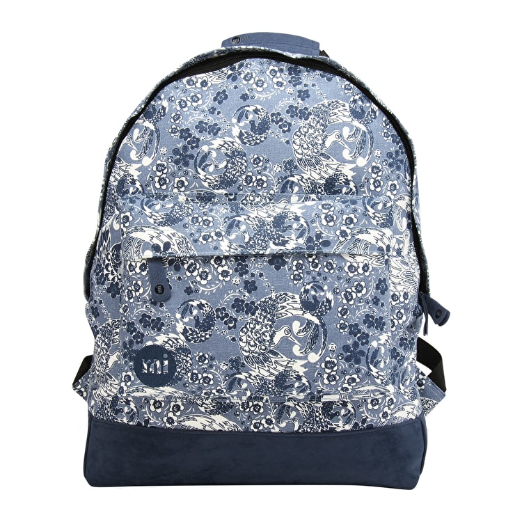 Mi-Pac Oriental Birds Backpack - Blue
