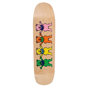 Grizzly x Grateful Dead One Big Family Cruiser Skateboard Deck