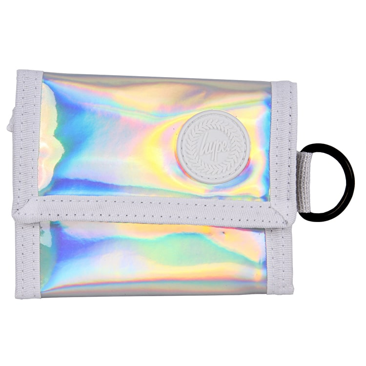 Hype Holographic Wallet - Silver