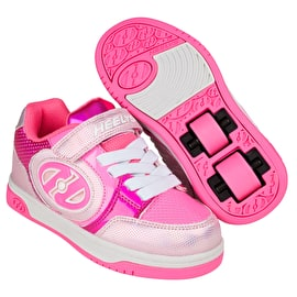 Heelys X2 Plus Lighted - Fuchsia/Hologram