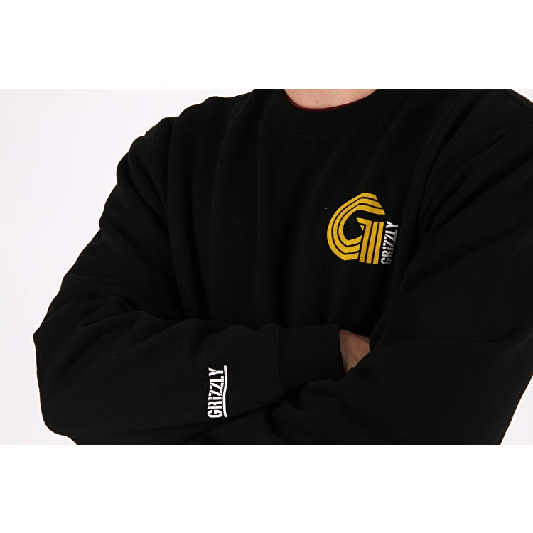 Grizzly Certified G Crew Neck - Black