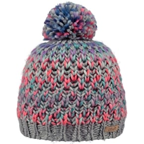 Barts Nicole Girls Beanie - Heather Grey