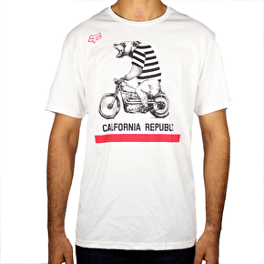 Fox Bear Republic T-Shirt - Optic White