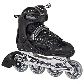 B-Stock SFR RX-XT Inline Skates - Black/Black - Size - UK 8 (Box Damage)
