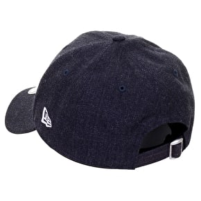 New Era 9FORTY NY Yankees Cap - Heather Navy
