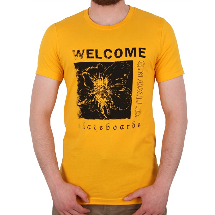 Welcome Flaura T shirt - Gold