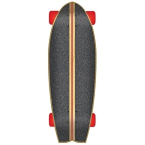 Santa Cruz Land Shark Tiki Skulll Complete Cruiser - Natural 27.7