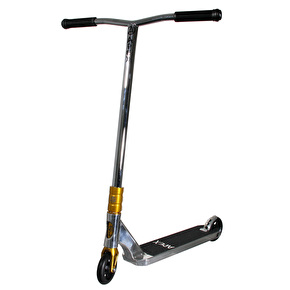 Apex Pro Custom Scooter - Chrome/Gold