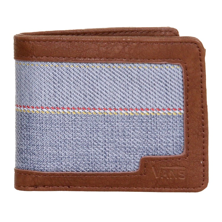Vans Boyd Bifold Wallet - Blue Mirage Rockaway Stripe
