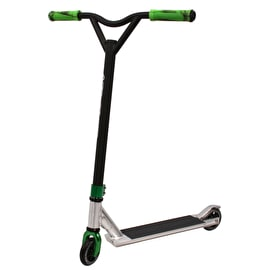 Razor Pro x Grit Custom Stunt Scooter - Cheapshots Silver/Black/Green