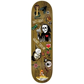 Anti Hero Grape Dope Taylor Skateboard Deck - 8.12