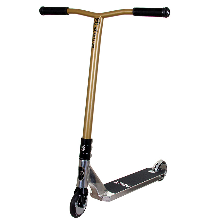 Apex Pro Custom Scooter - Polished/Gold