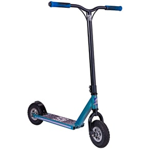 Grit Terra AT Dirt Scooter - Raw Blue/Black