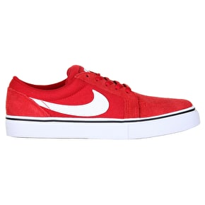 Nike SB Satire Skate Shoes - Gym Red/White