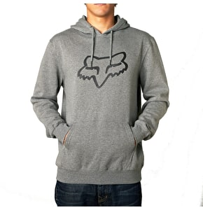Fox Legacy Foxhead Pullover Hoody - Heather Graphite