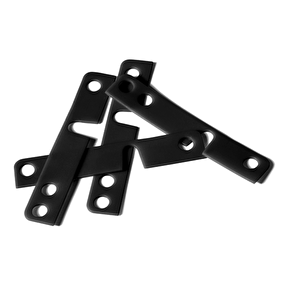 Mindless Drop-Through Riser Pads - Black