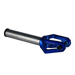 AO Diamond V2 SCS Scooter Forks - Blue