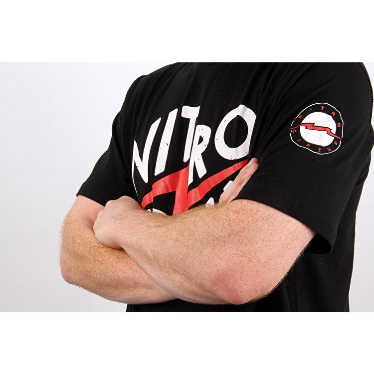 Nitro Circus Clash T Shirt - Black/Red