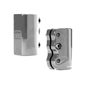 UrbanArtt SCS Mini Triple Clamp - Grey Mirror