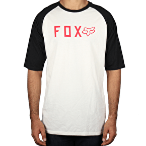 Fox Kill Shot Raglan T-Shirt - White