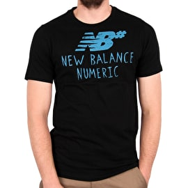 New Balance Hand Drawn T shirt - Black/Blue
