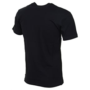 Vans Full Patch T-Shirt - Black/Blue Mirage