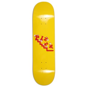 Pizza Watch Your Step Skateboard Deck 8.375
